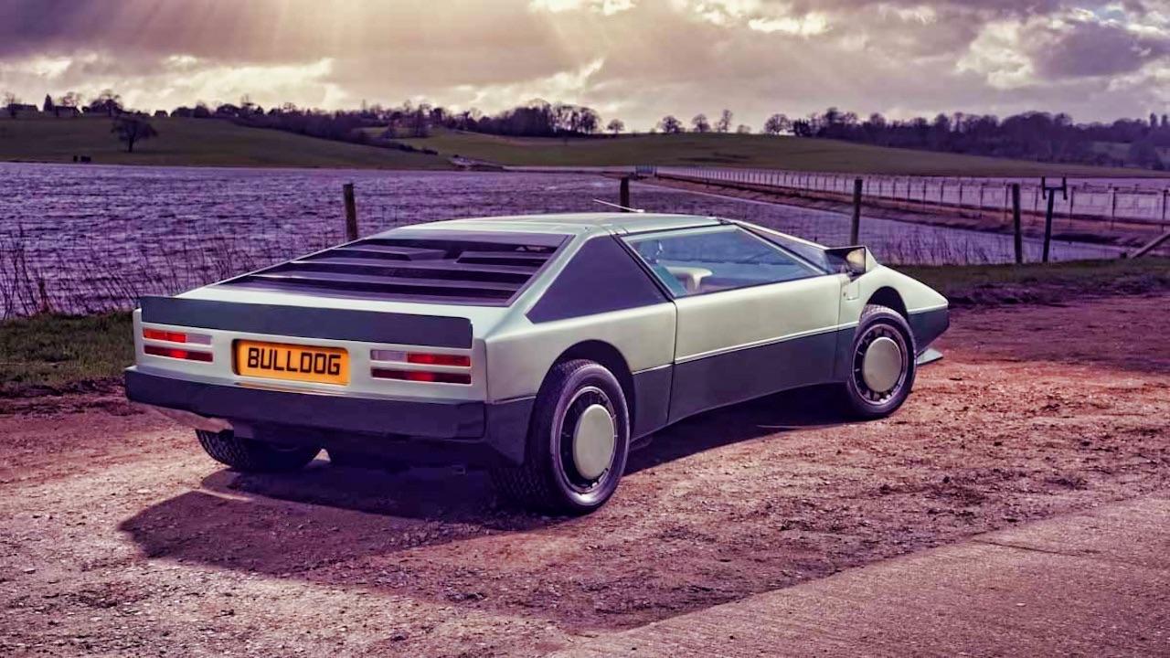 Aston Martin Bulldog : Blade Runner avant l'heure 1