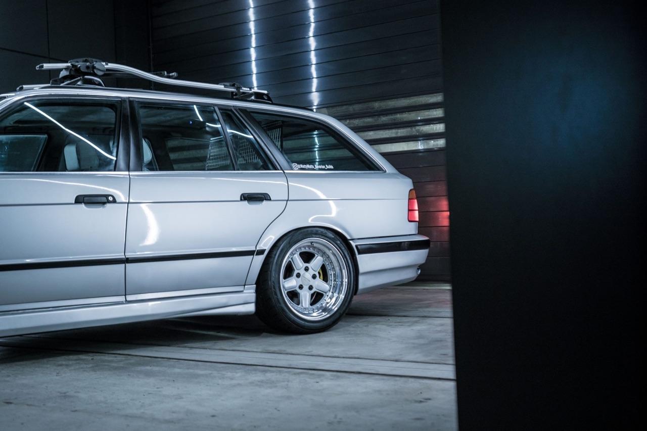 BMW 530i Touring E34... Mais ça c'était avant ! 5
