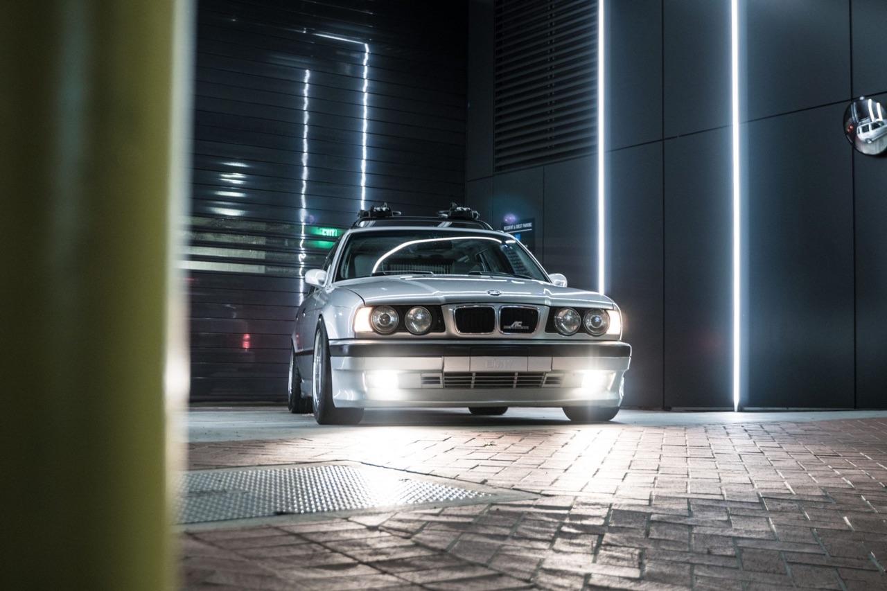 BMW 530i Touring E34... Mais ça c'était avant ! 11