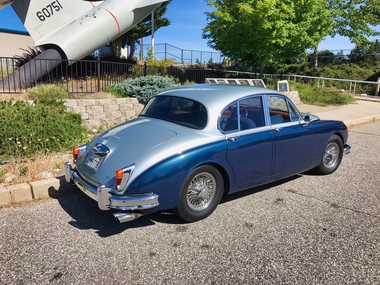 '61 Jaguar Mk II - Roots and outlaw en V8 ! 3