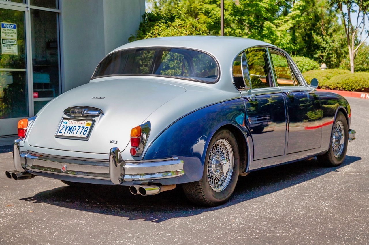 '61 Jaguar Mk II - Roots and outlaw en V8 ! 14