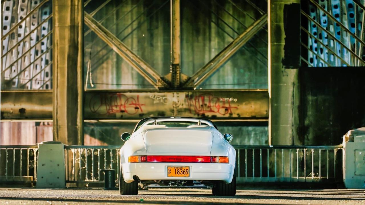 Hier, Porsche 911 SC Targa et aujourd'hui, Speedster 3.6 l ! 3