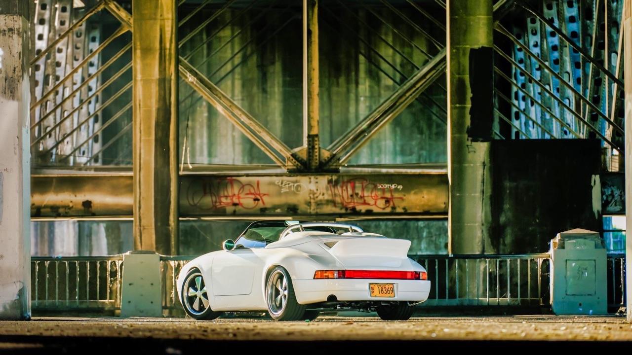 Hier, Porsche 911 SC Targa et aujourd'hui, Speedster 3.6 l ! 2