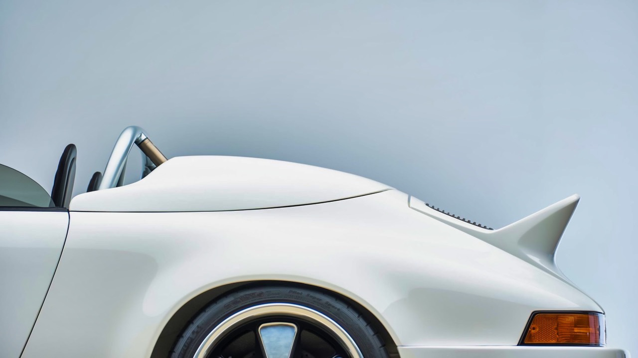 Hier, Porsche 911 SC Targa et aujourd'hui, Speedster 3.6 l ! 16