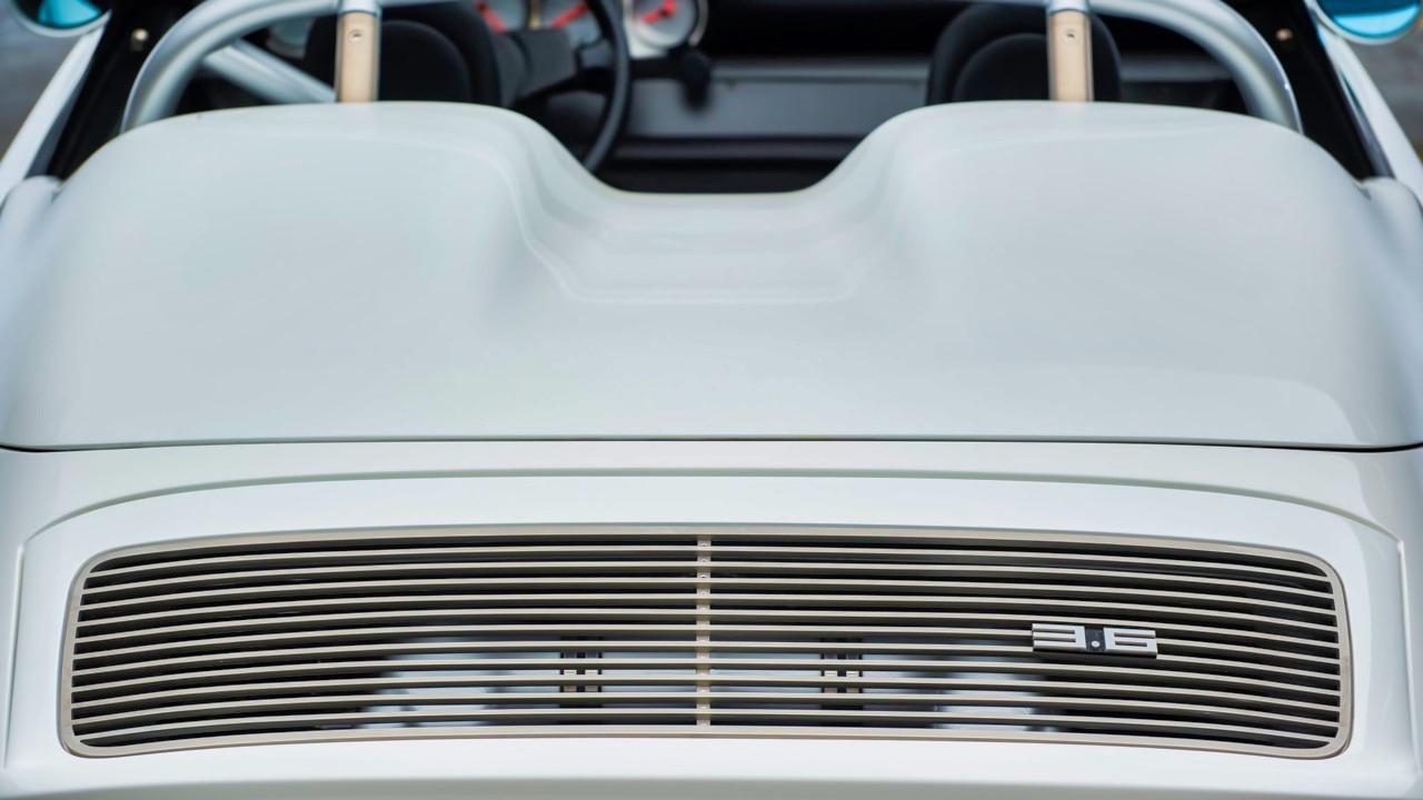 Hier, Porsche 911 SC Targa et aujourd'hui, Speedster 3.6 l ! 11