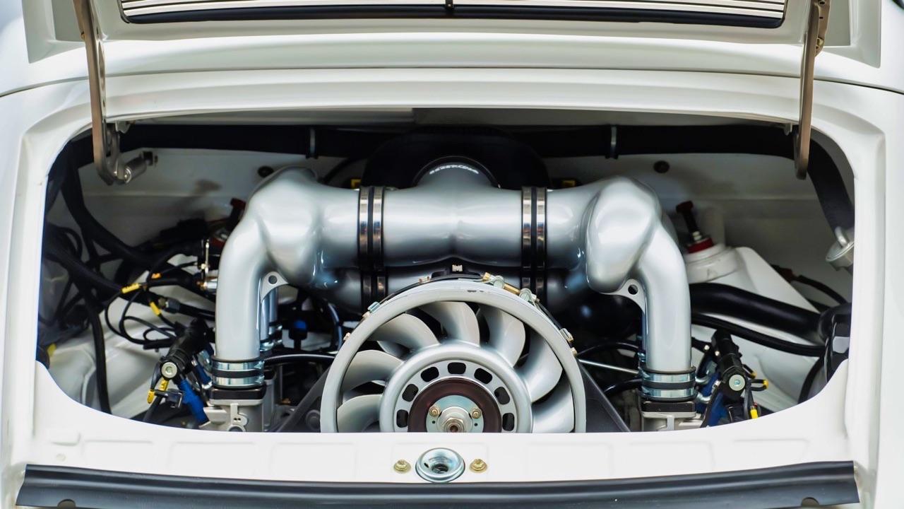 Hier, Porsche 911 SC Targa et aujourd'hui, Speedster 3.6 l ! 13
