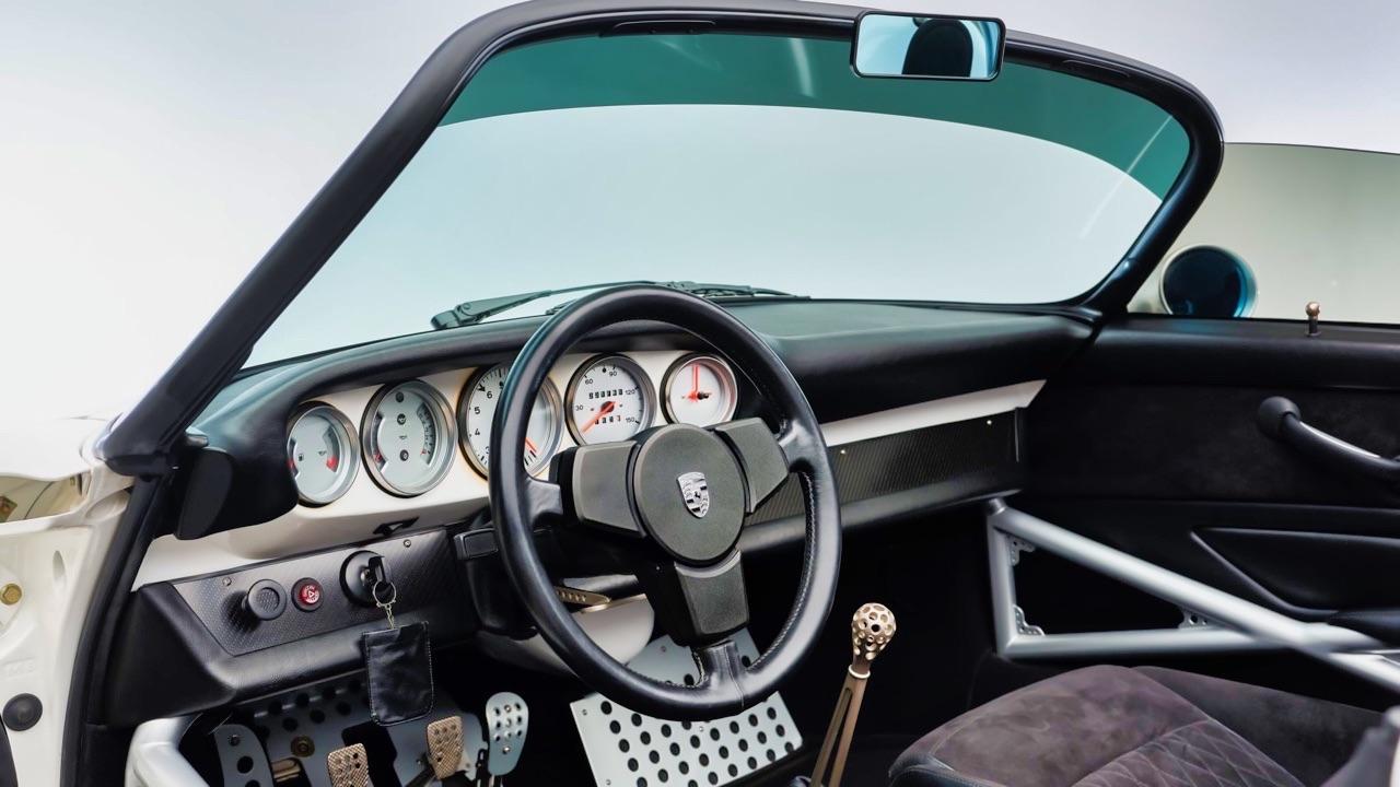 Hier, Porsche 911 SC Targa et aujourd'hui, Speedster 3.6 l ! 10
