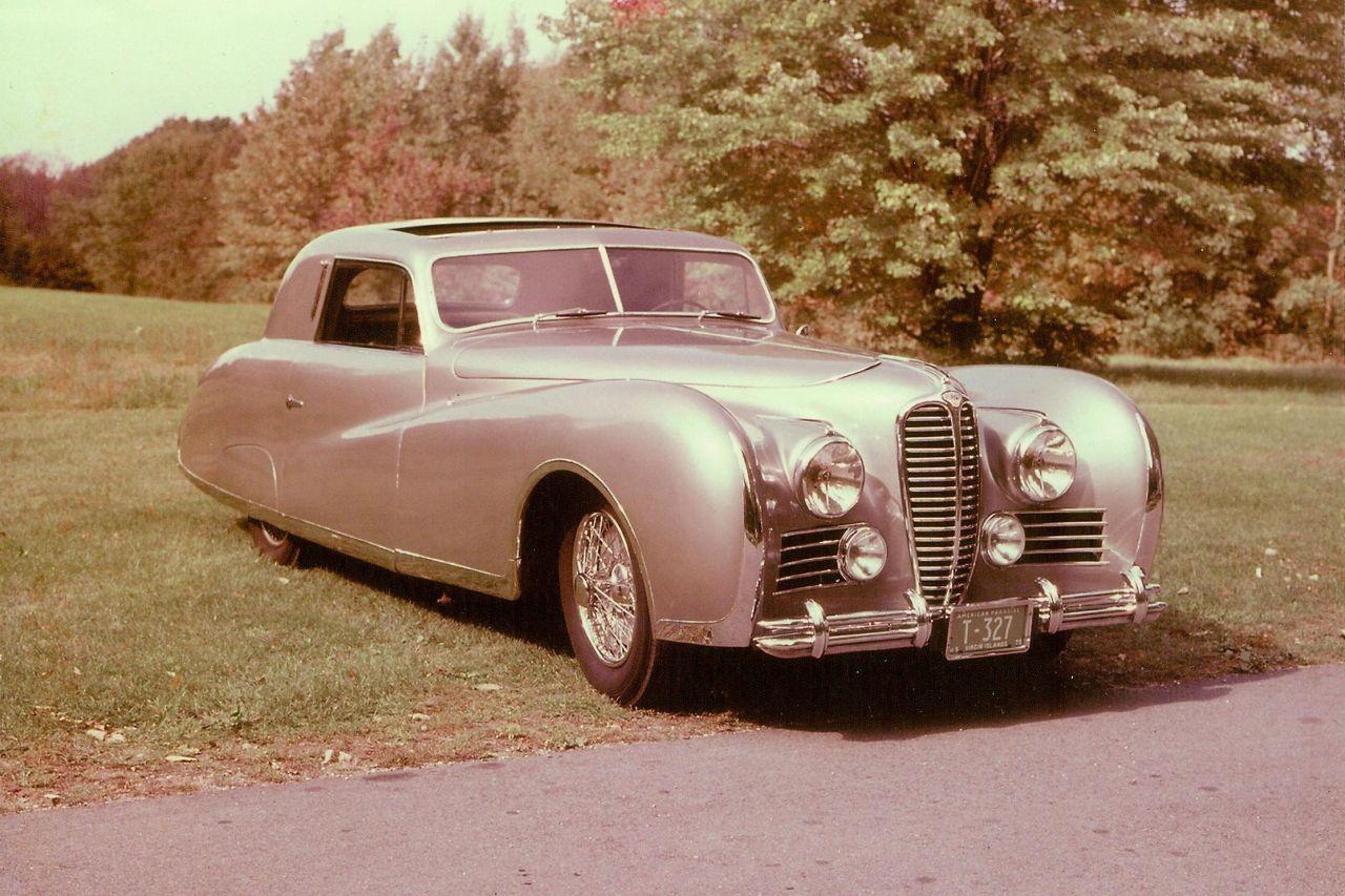 Delahaye Type 175 Cabriolet de 1949 - Ça, c'est une Voiture ! 18