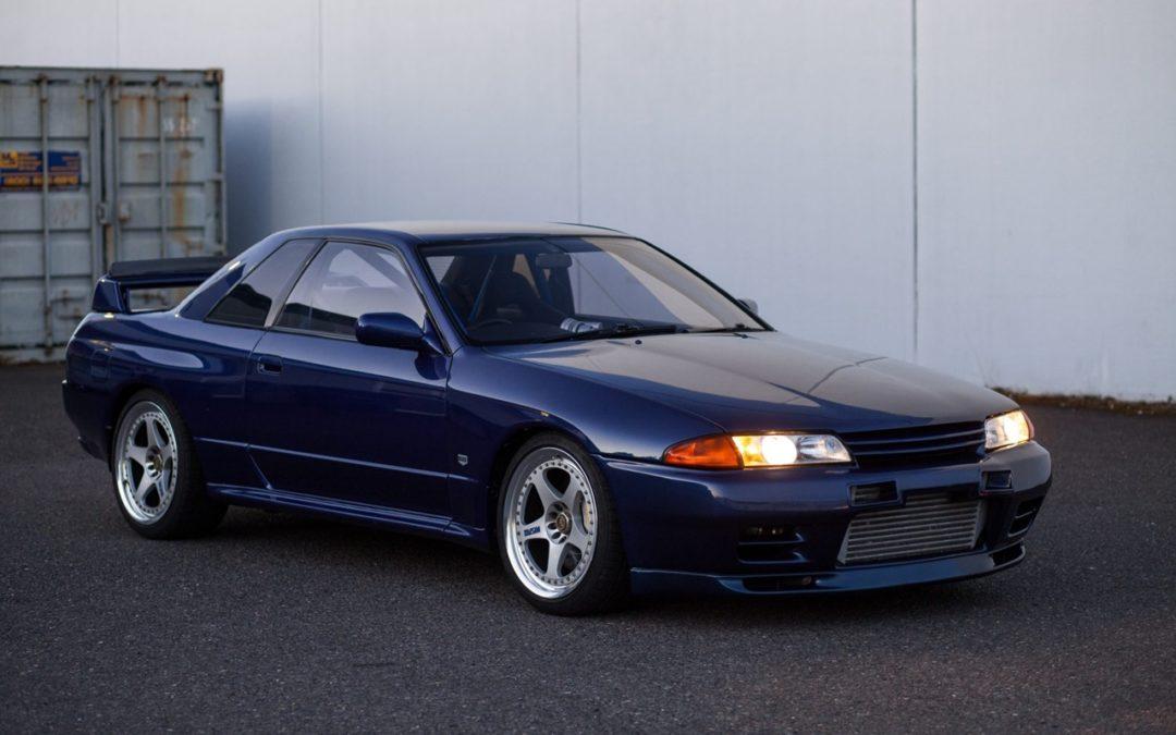 Nissan Skyline R32 GT-R : Blue Godzilla