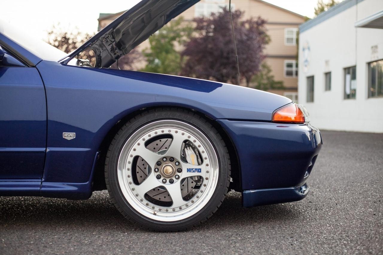 Nissan Skyline R32 GT-R : Blue Godzilla 23