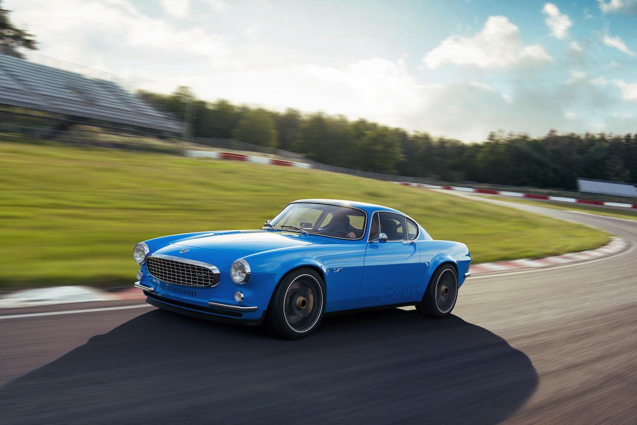 Volvo P1800 Cyan Racing - J'suis bleu, j'suis métal ! 14