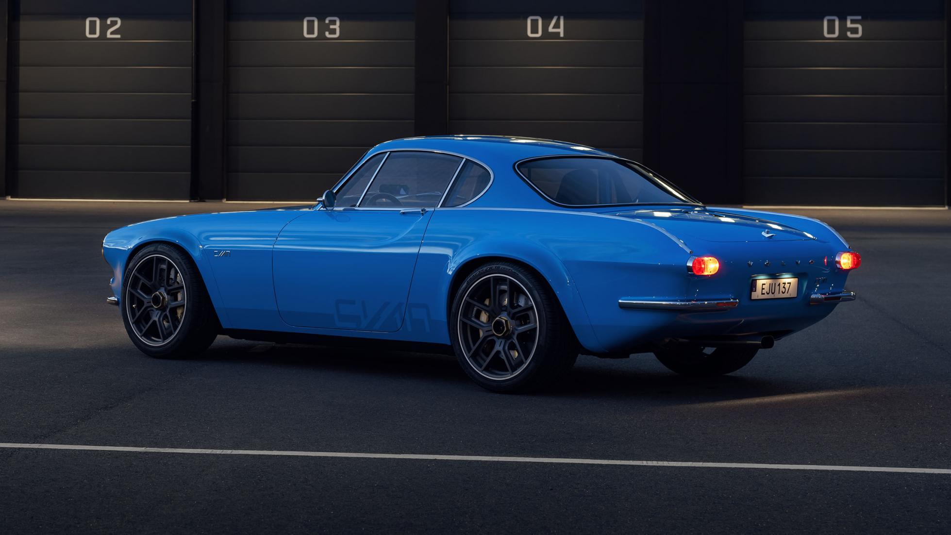 Volvo P1800 Cyan Racing - J'suis bleu, j'suis métal ! 12