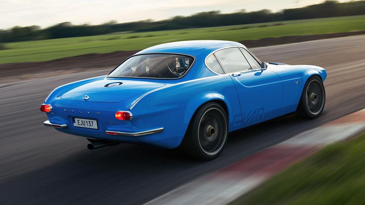 Volvo P1800 Cyan Racing - J'suis bleu, j'suis métal ! 11