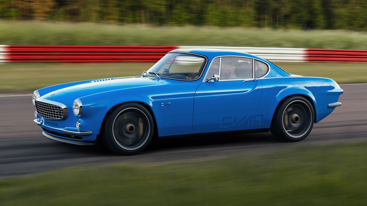 Volvo P1800 Cyan Racing - J'suis bleu, j'suis métal ! 10