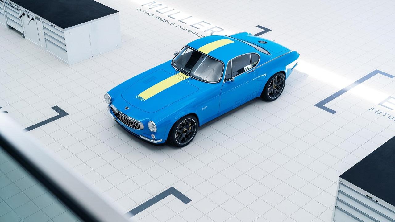 Volvo P1800 Cyan Racing - J'suis bleu, j'suis métal ! 9