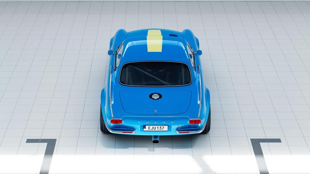 Volvo P1800 Cyan Racing - J'suis bleu, j'suis métal ! 7