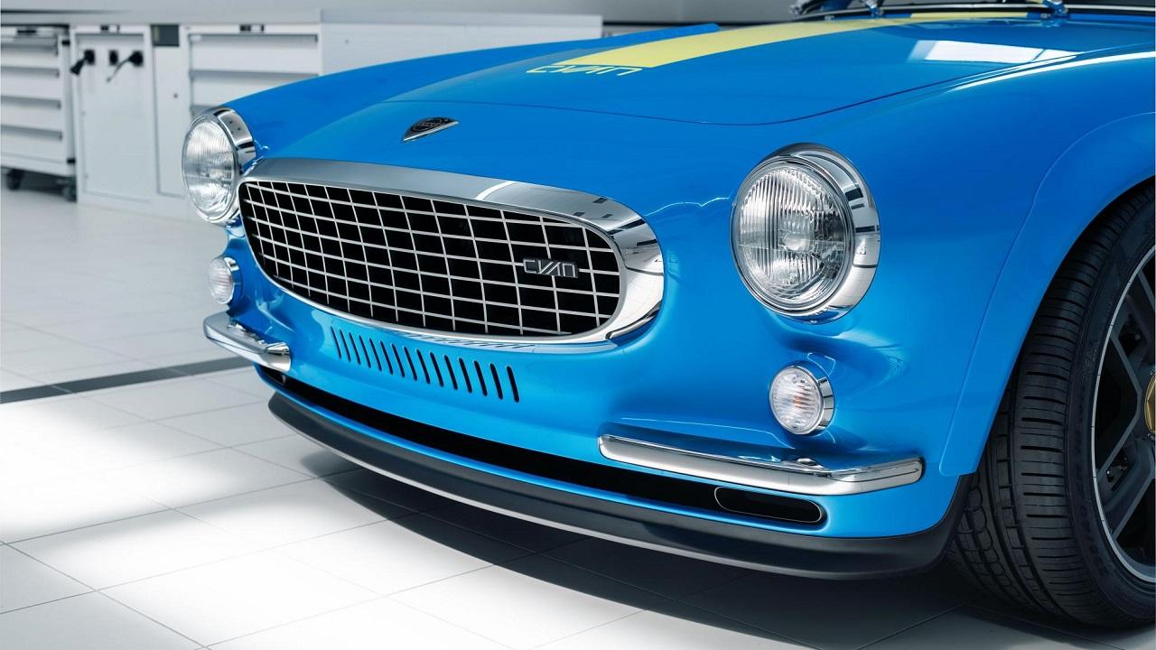 Volvo P1800 Cyan Racing - J'suis bleu, j'suis métal ! 6