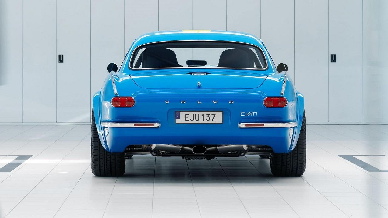 Volvo P1800 Cyan Racing - J'suis bleu, j'suis métal ! 5