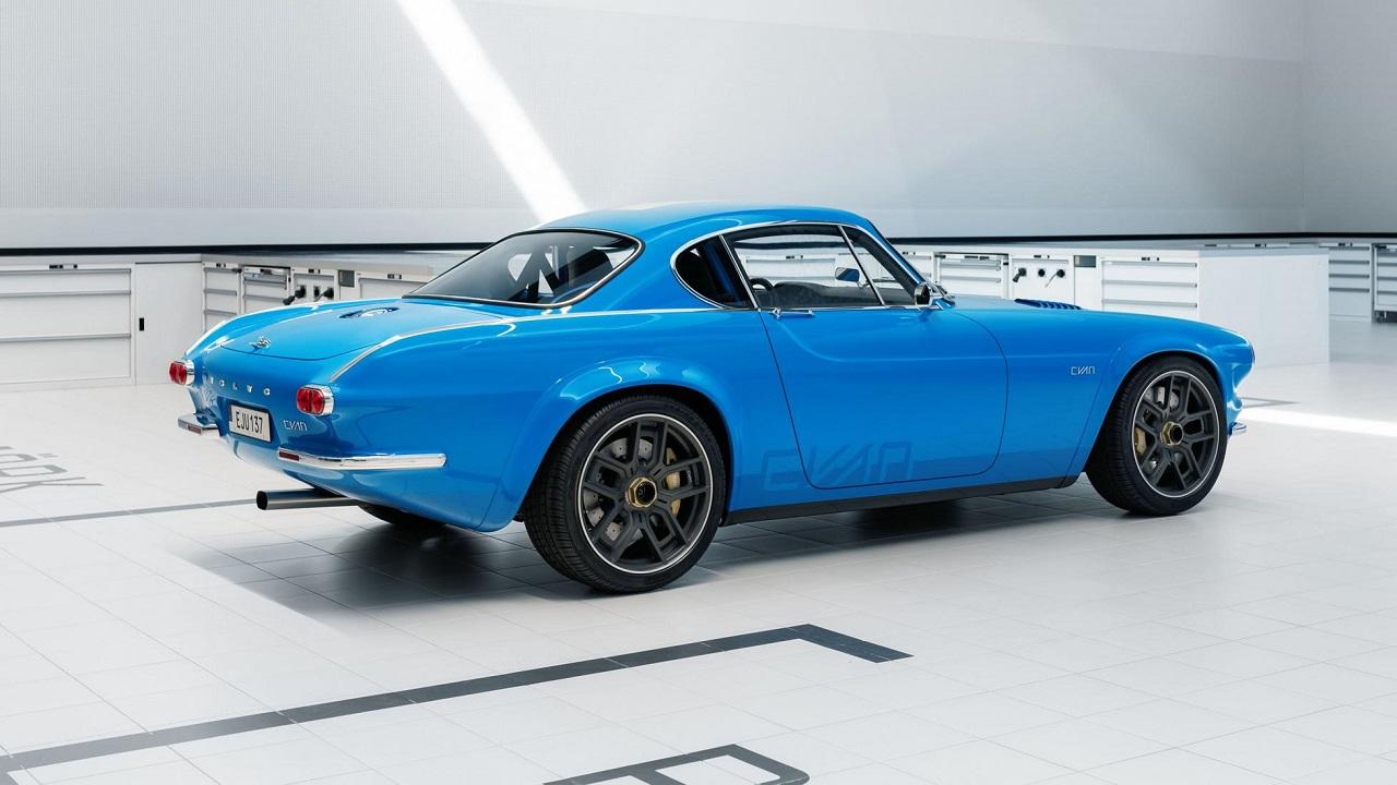 Volvo P1800 Cyan Racing - J'suis bleu, j'suis métal ! 3