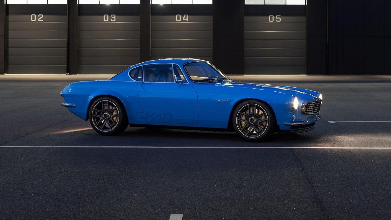 Volvo P1800 Cyan Racing - J'suis bleu, j'suis métal ! 1