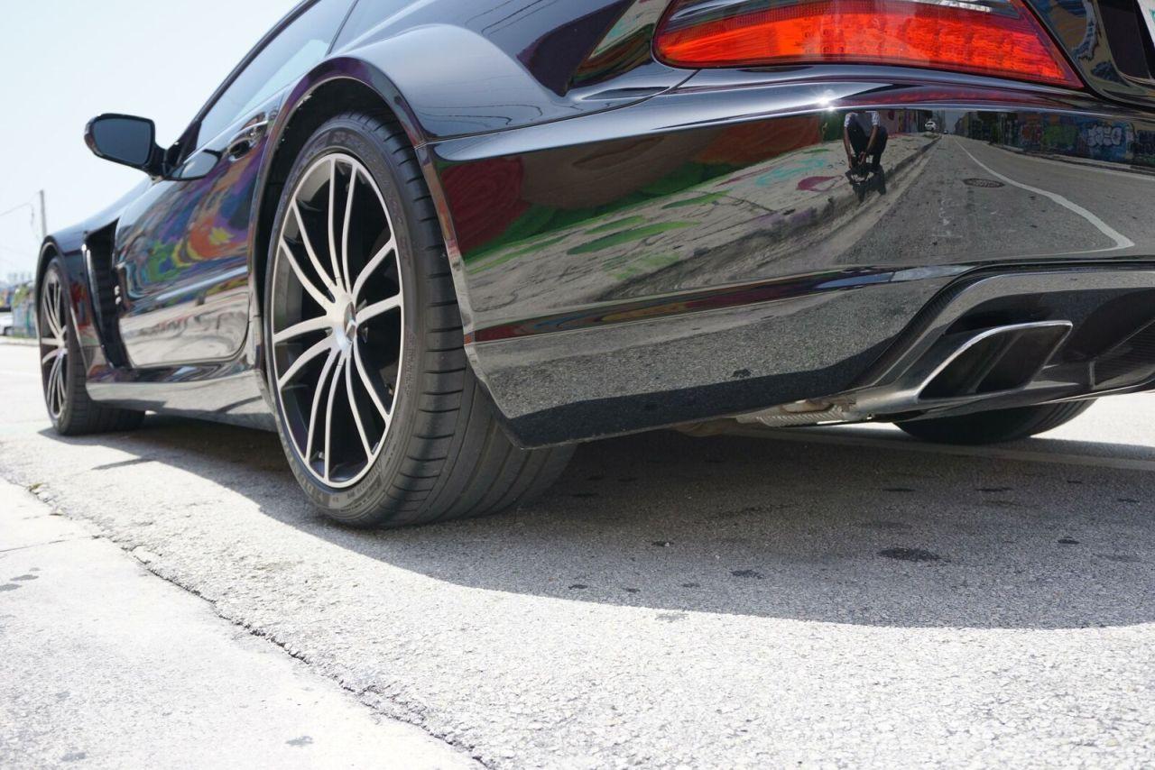 Mercedes SL 65 AMG Black Series - Noir c'est noir ! 7