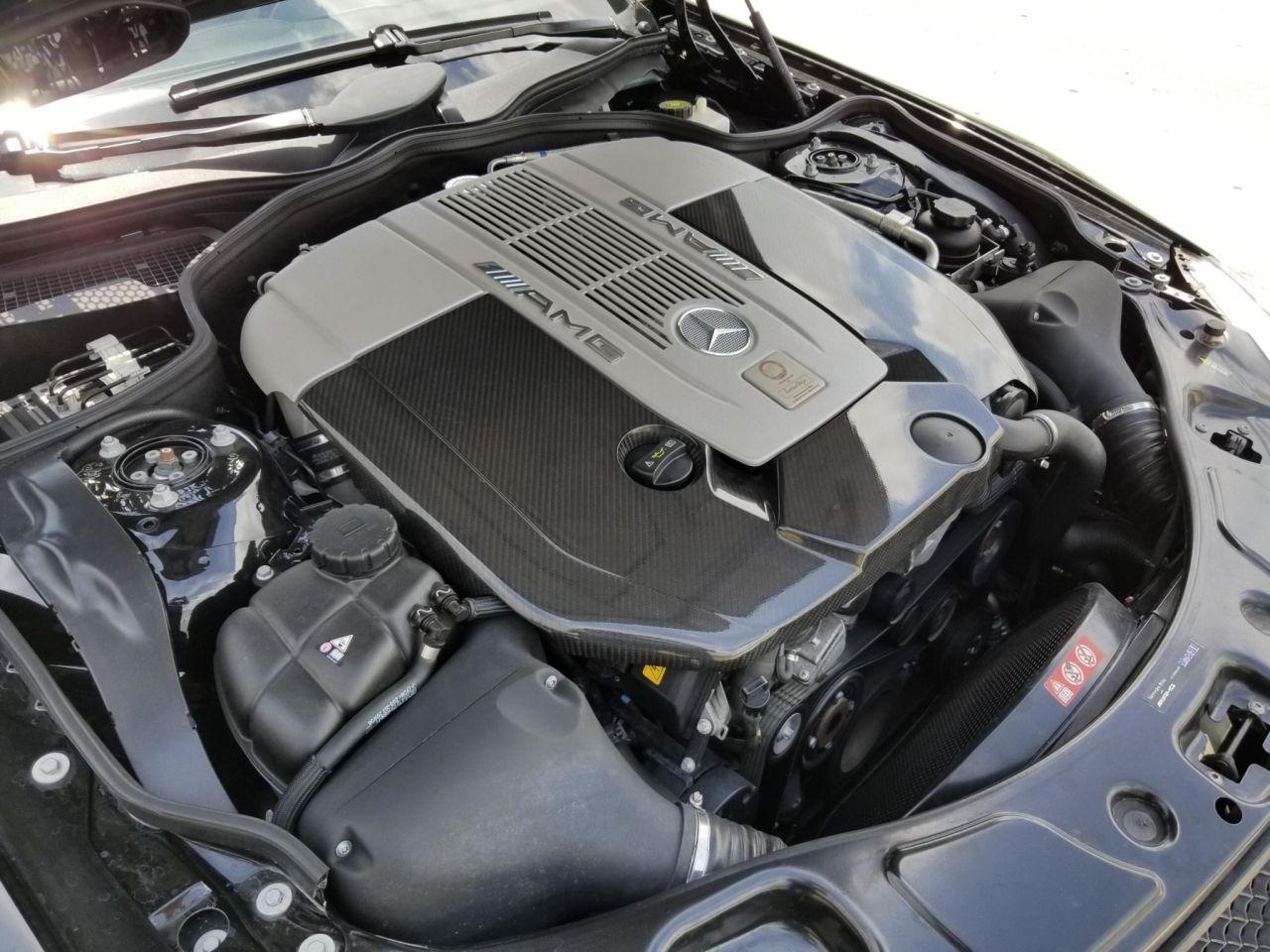 Mercedes SL 65 AMG Black Series - Noir c'est noir ! 10