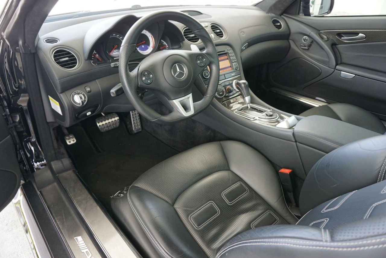Mercedes SL 65 AMG Black Series - Noir c'est noir ! 2