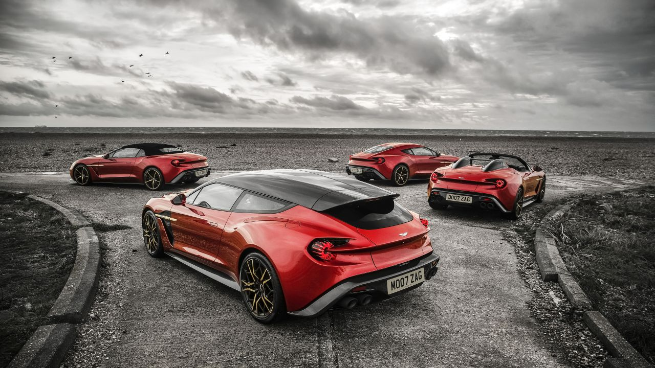 Aston Martin Vanquish By Zagato - Lady Signorina 7