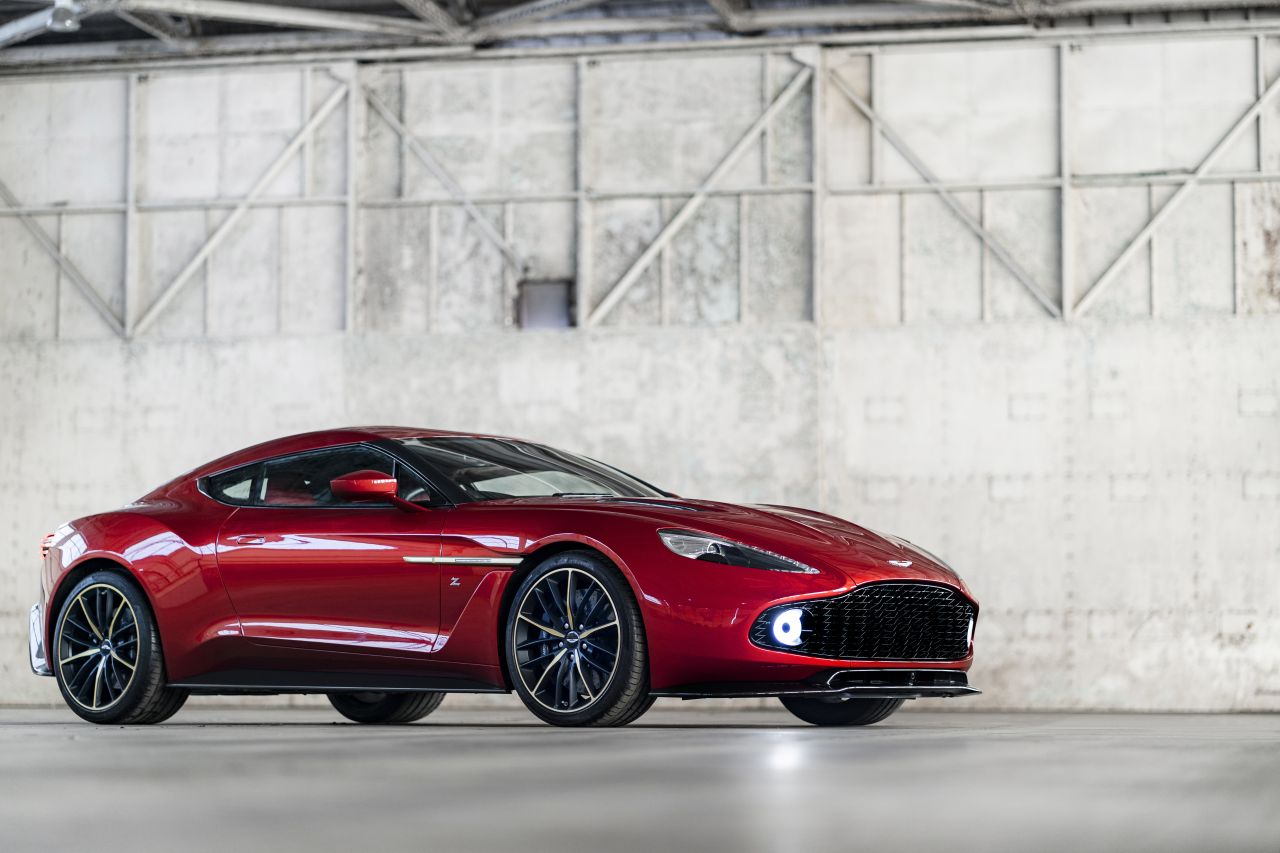Aston Martin Vanquish By Zagato - Lady Signorina 1