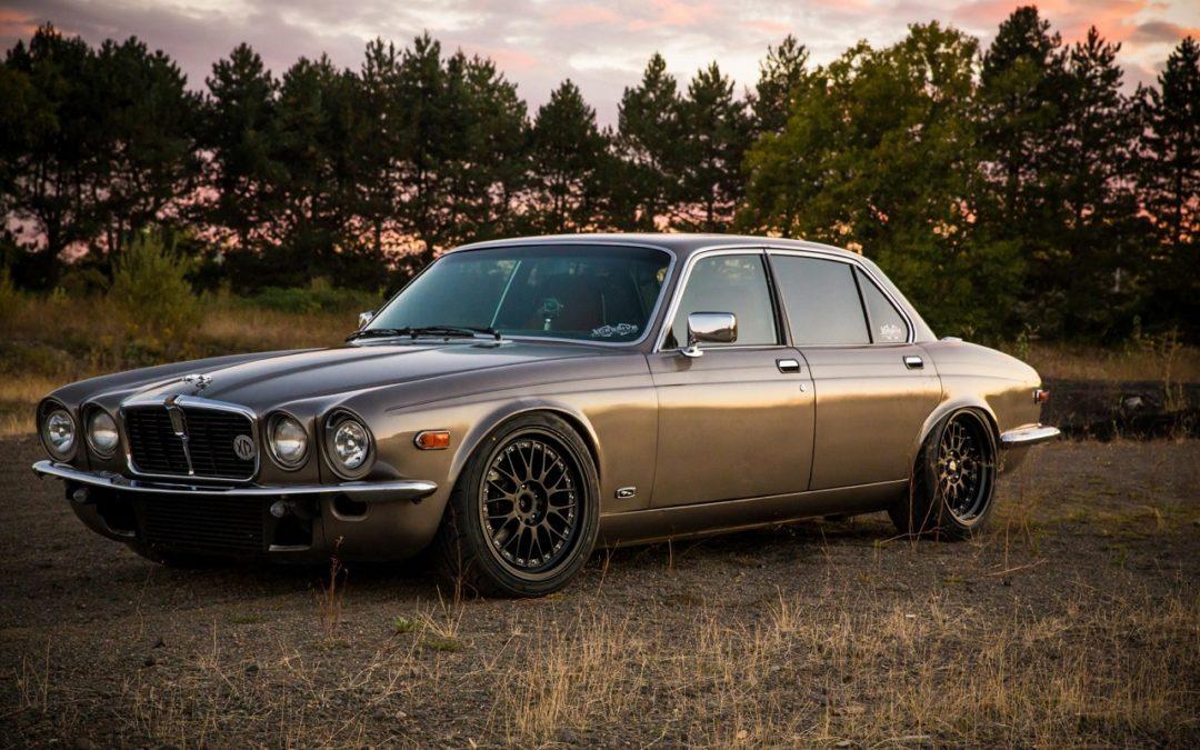 Jaguar XJ6 Drift Car – Presque d'origine… Ou pas.
