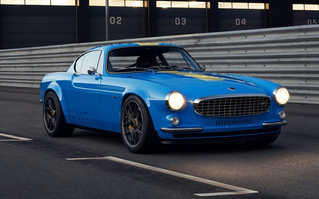 Volvo P1800 Cyan Racing – J'suis bleu, j'suis métal !