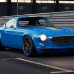 Volvo P1800 Cyan Racing - J'suis bleu, j'suis métal !