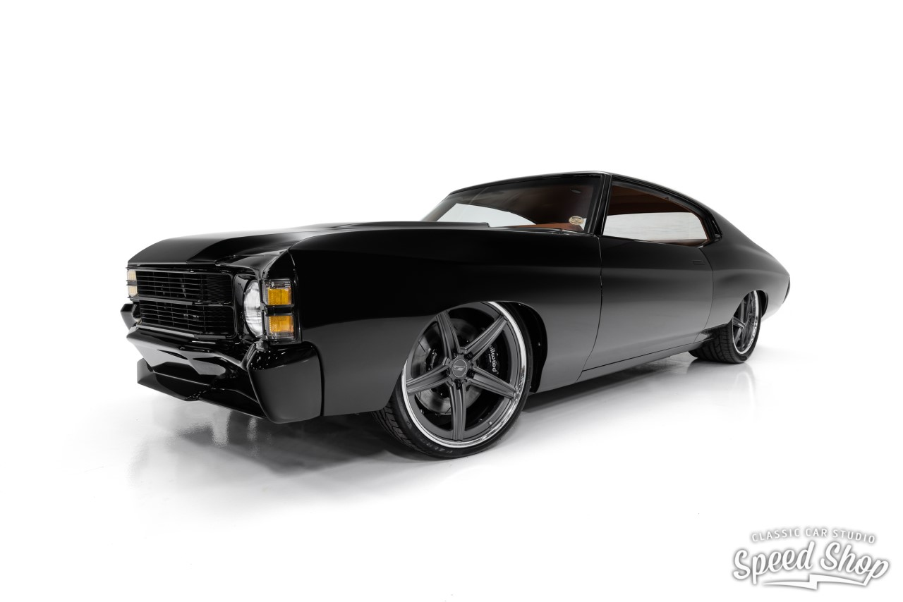 Chevy Chevelle SS '71 - LS9 & Choc frontal... 2