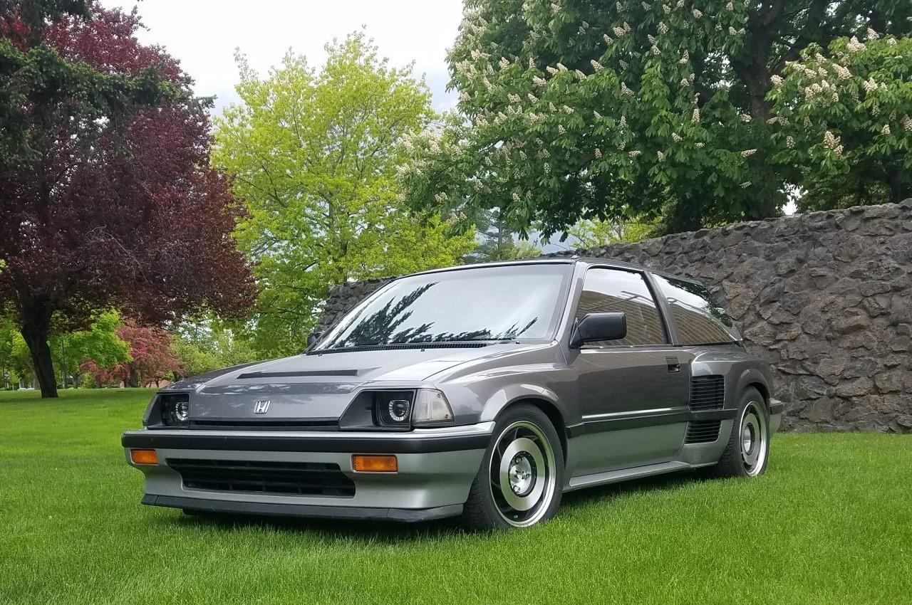 Honda Civic V6 - C'est comme ça qu'on tond sa pelouse ? 1