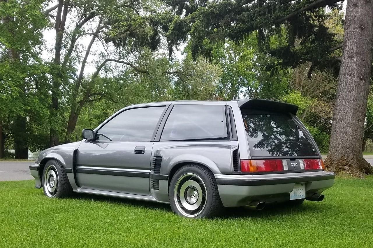 Honda Civic V6 - C'est comme ça qu'on tond sa pelouse ? 2