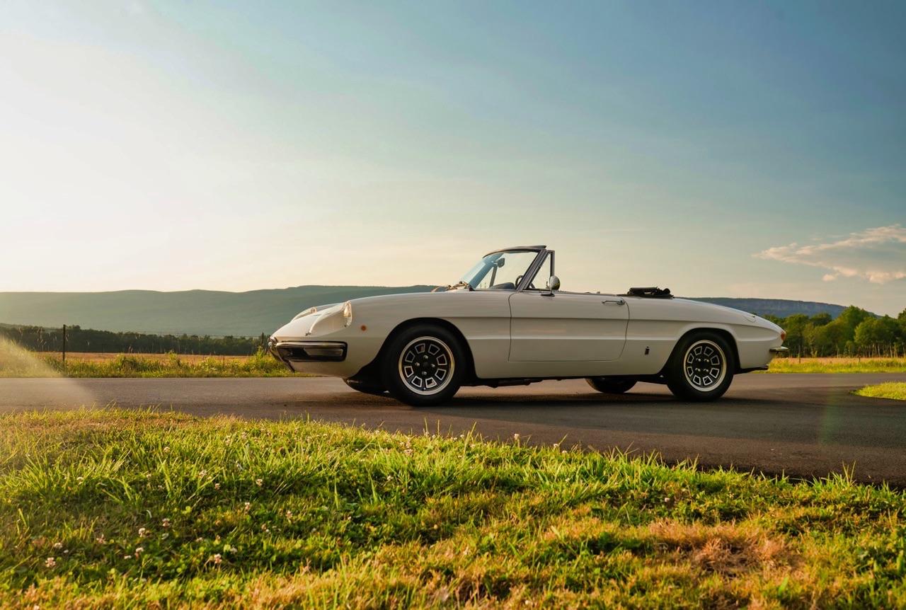 '69 Alfa Spider Duetto - Osso di seppia sauce restomod ! 13