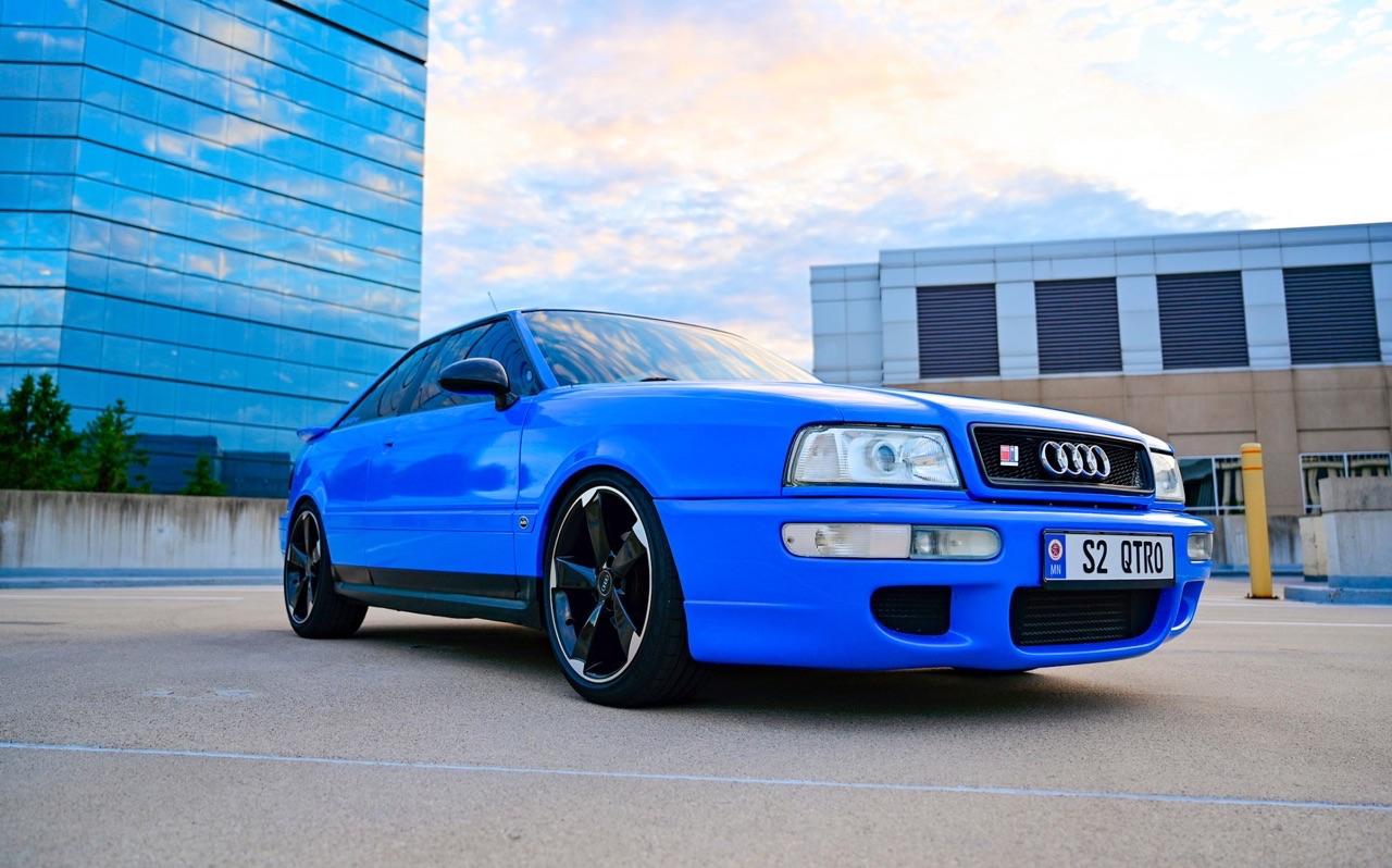 '90 Audi Coupé - S et RS Spirit ! 15