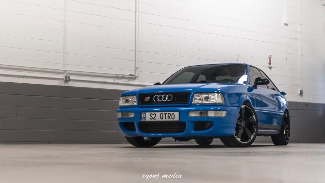 '90 Audi Coupé - S et RS Spirit ! 8