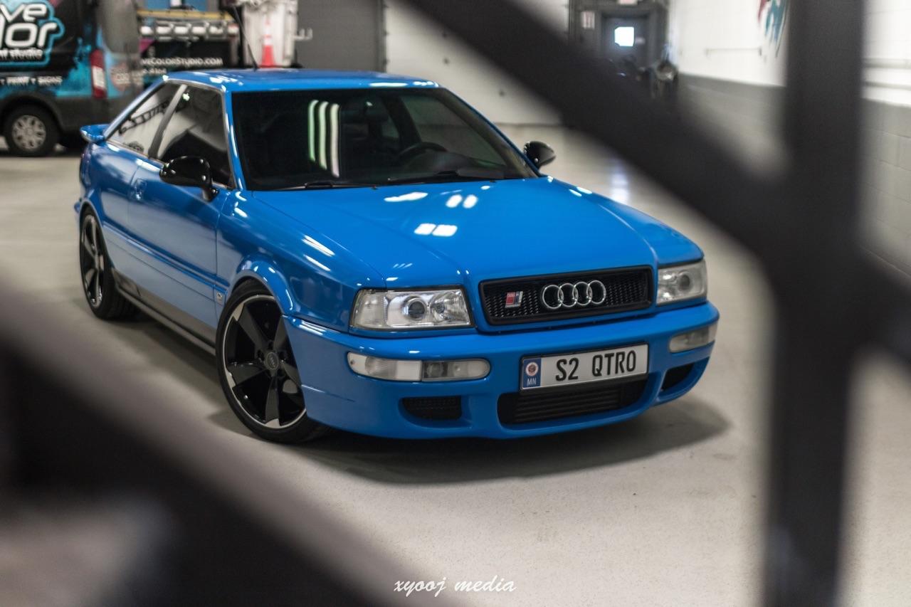 '90 Audi Coupé - S et RS Spirit ! 2