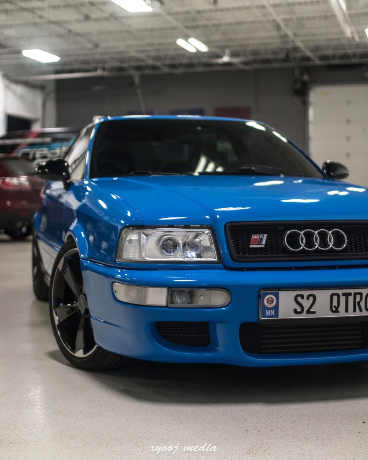 '90 Audi Coupé - S et RS Spirit ! 1