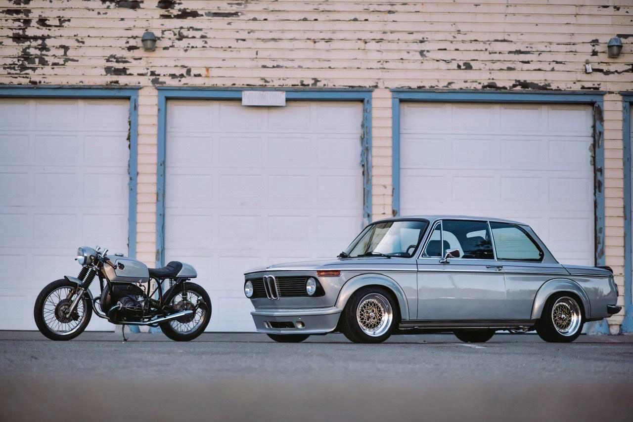 '75 BMW 2002 et R75/6 - Cafe racer sur 4 et 2 roues ! 21