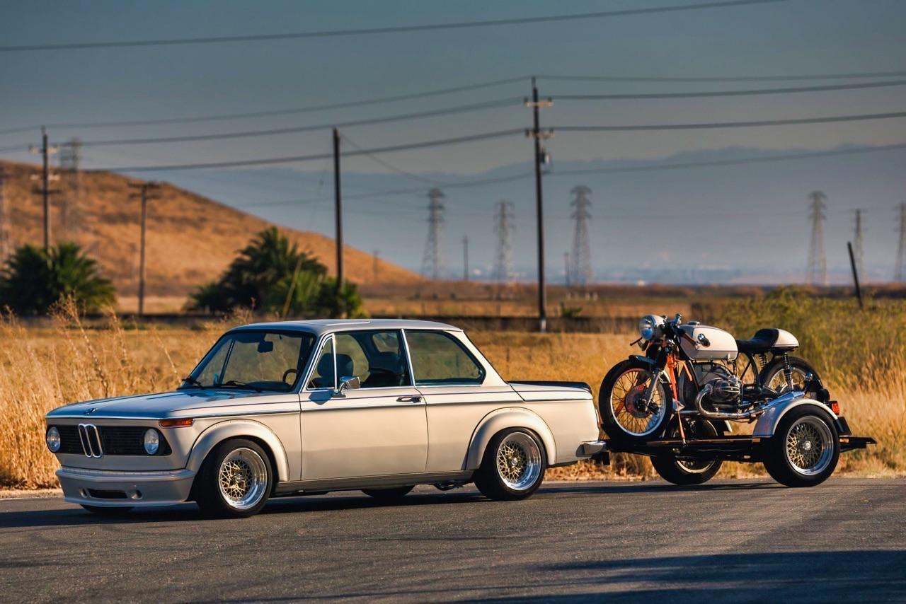 '75 BMW 2002 et R75/6 - Cafe racer sur 4 et 2 roues ! 17