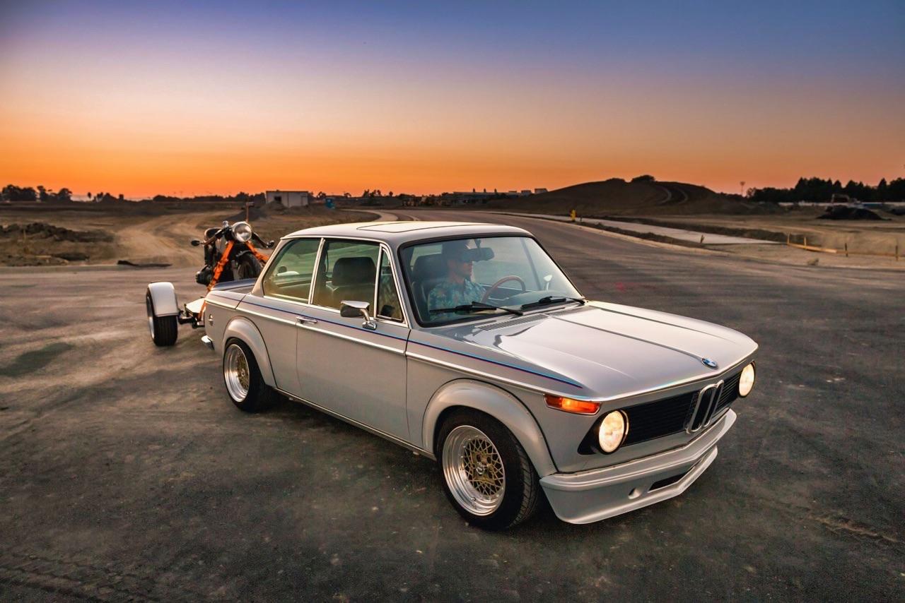'75 BMW 2002 et R75/6 - Cafe racer sur 4 et 2 roues ! 20