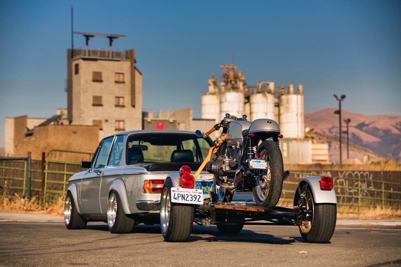 '75 BMW 2002 et R75/6 - Cafe racer sur 4 et 2 roues ! 18