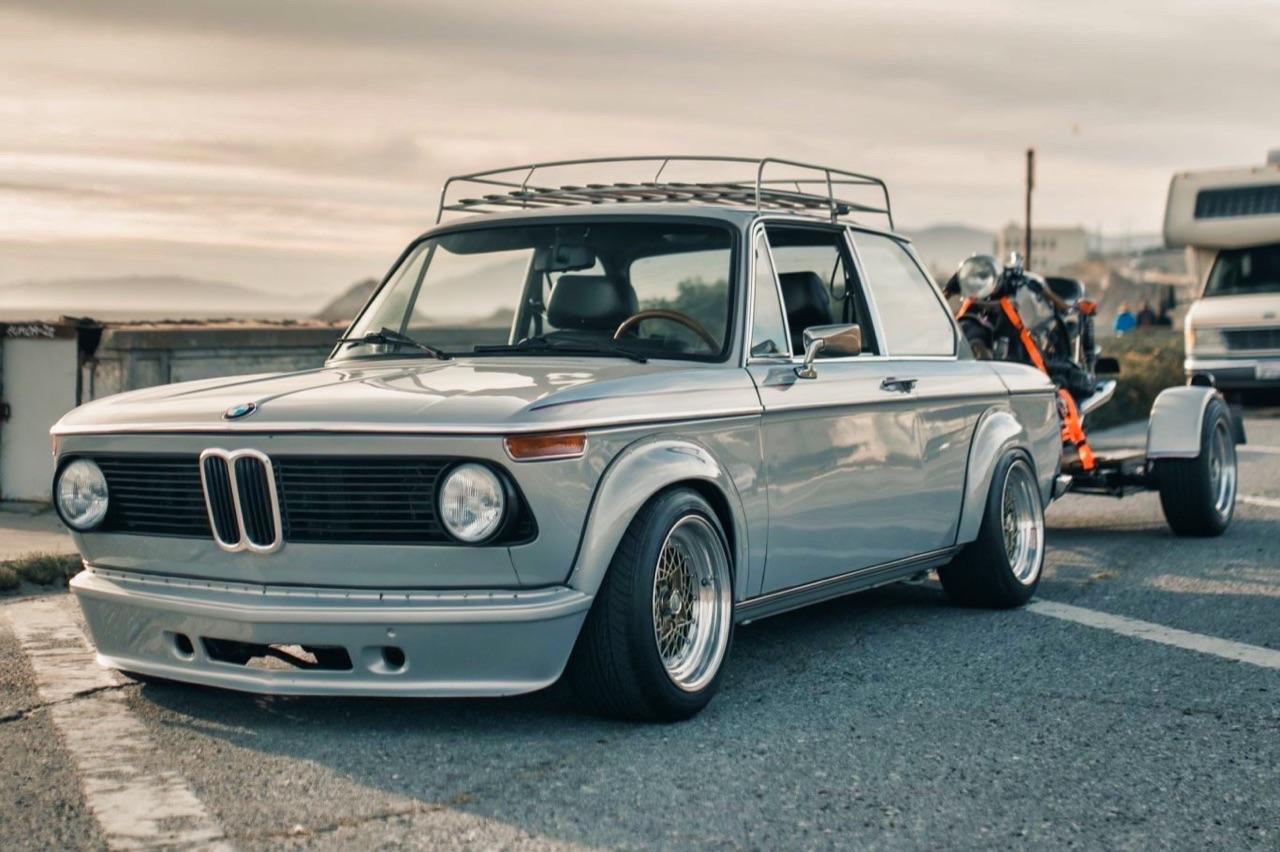 '75 BMW 2002 et R75/6 - Cafe racer sur 4 et 2 roues ! 11
