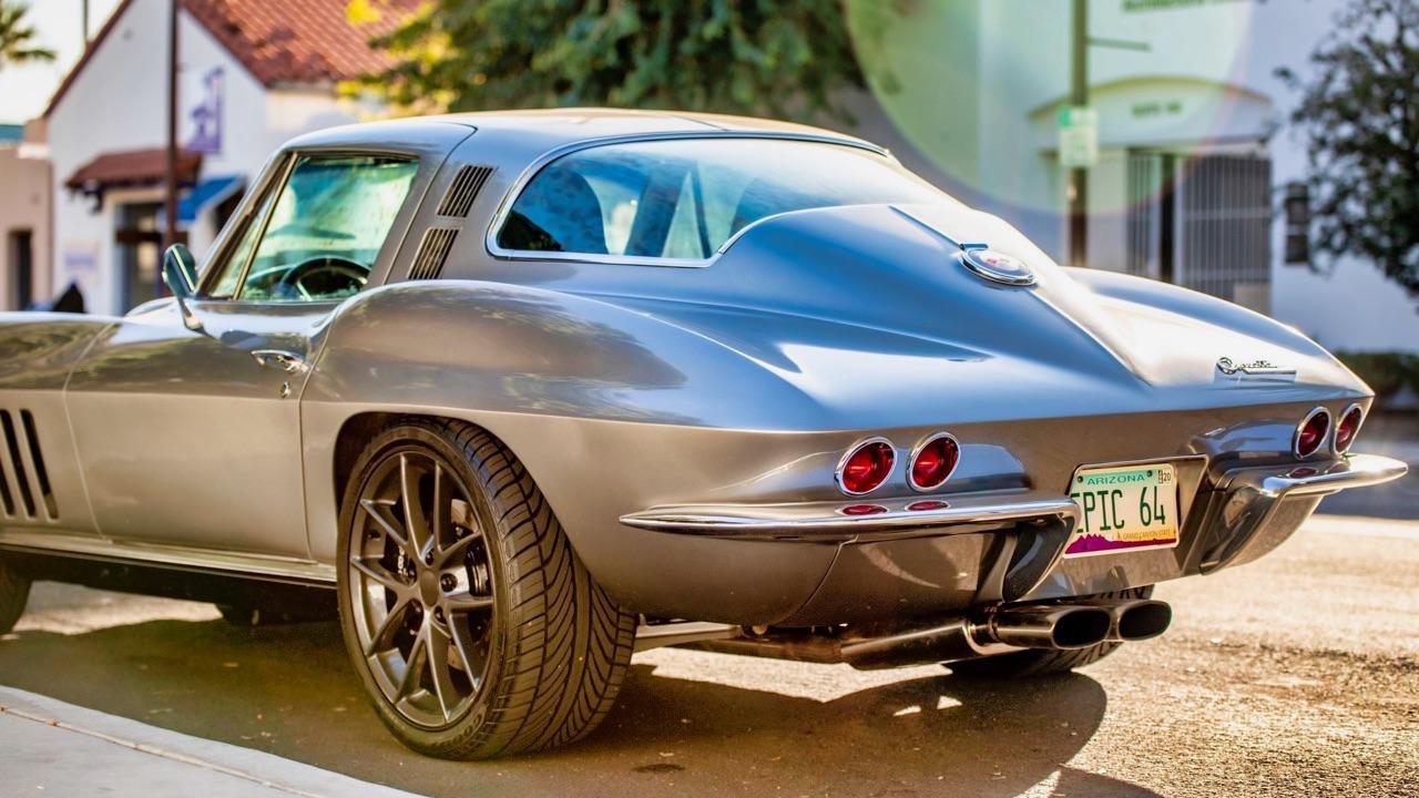 '64 Chevrolet Corvette C2 - Stingray'stomod ! 10