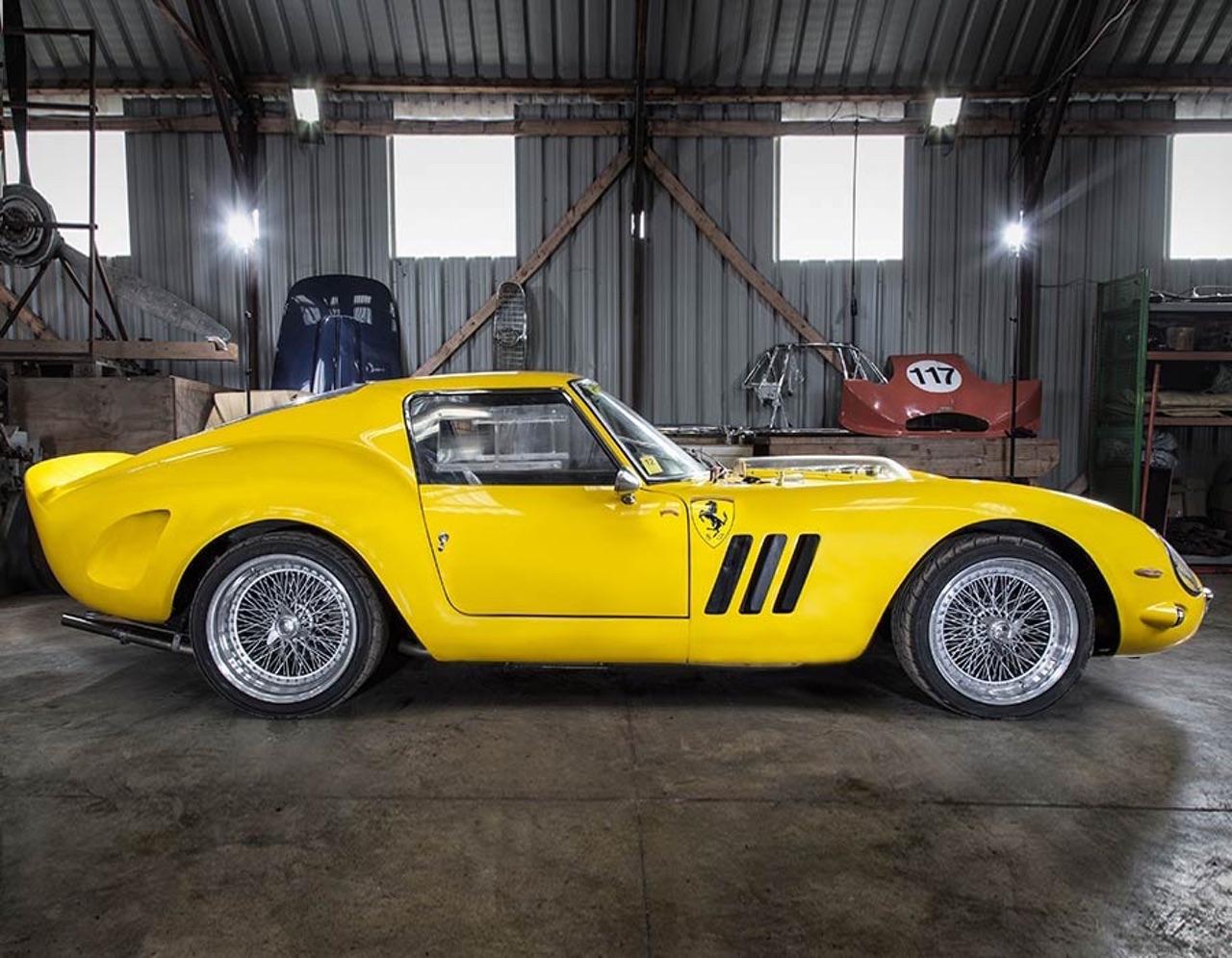 Ferrari 250 GTO Hot Rod... Une Gee Tee Ho de 601 ch ! 6
