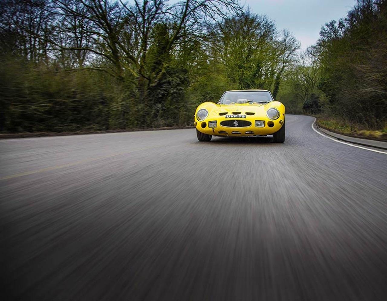 Ferrari 250 GTO Hot Rod... Une Gee Tee Ho de 601 ch ! 7