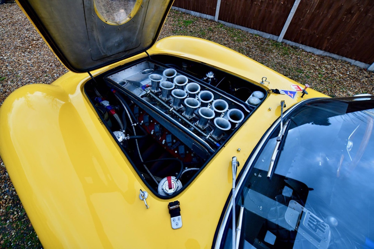 Ferrari 250 GTO Hot Rod... Une Gee Tee Ho de 601 ch ! 9