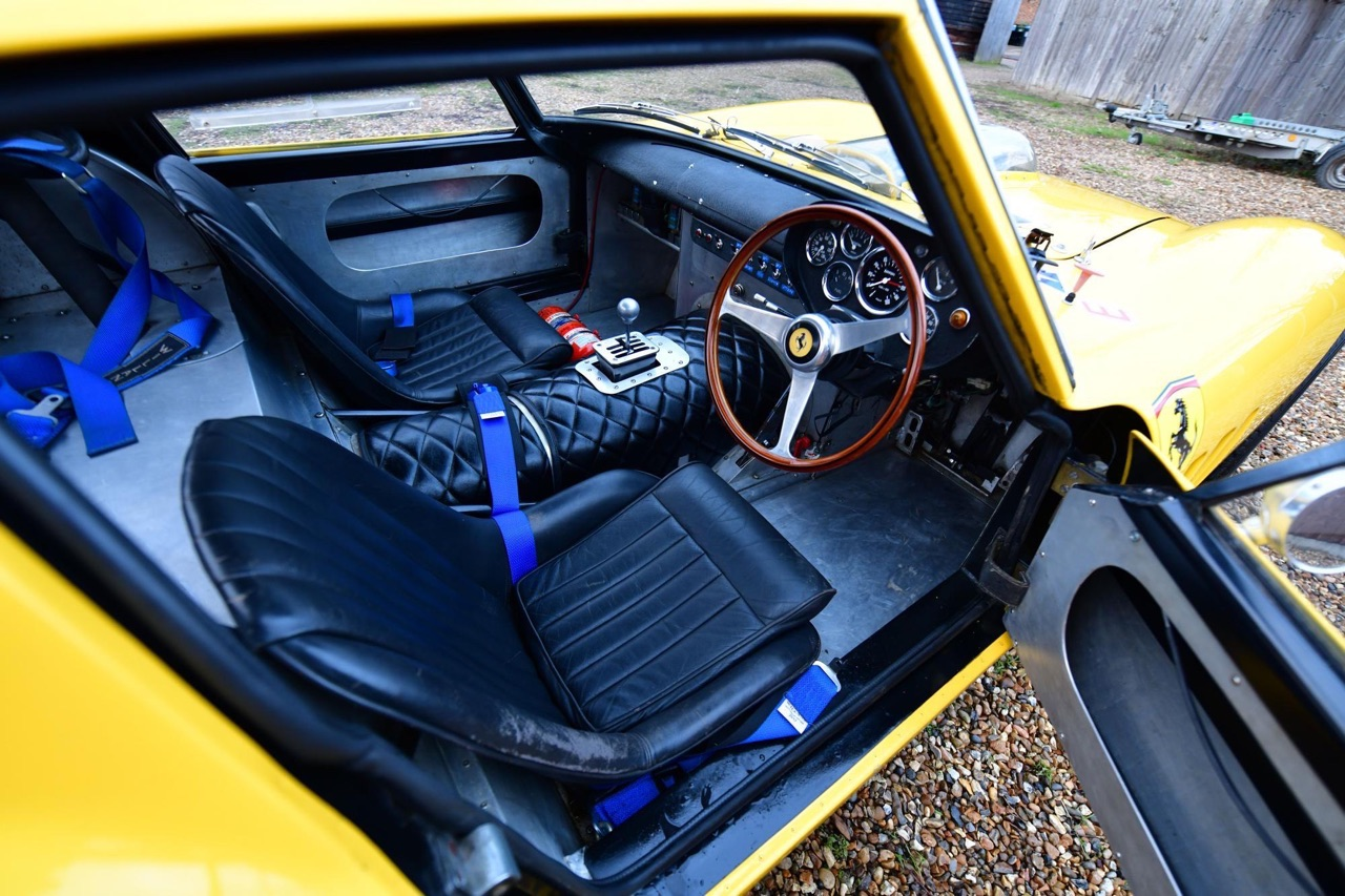 Ferrari 250 GTO Hot Rod... Une Gee Tee Ho de 601 ch ! 13